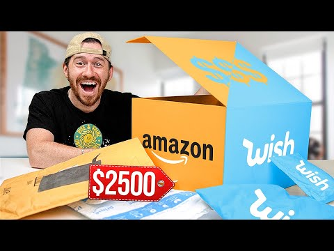 Massive $2,500 Wish and Amazon Mystery Tech Unboxing!!