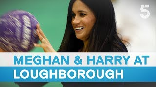 Meghan Markle and Prince Harry attend Coach Core Awards | 5 News