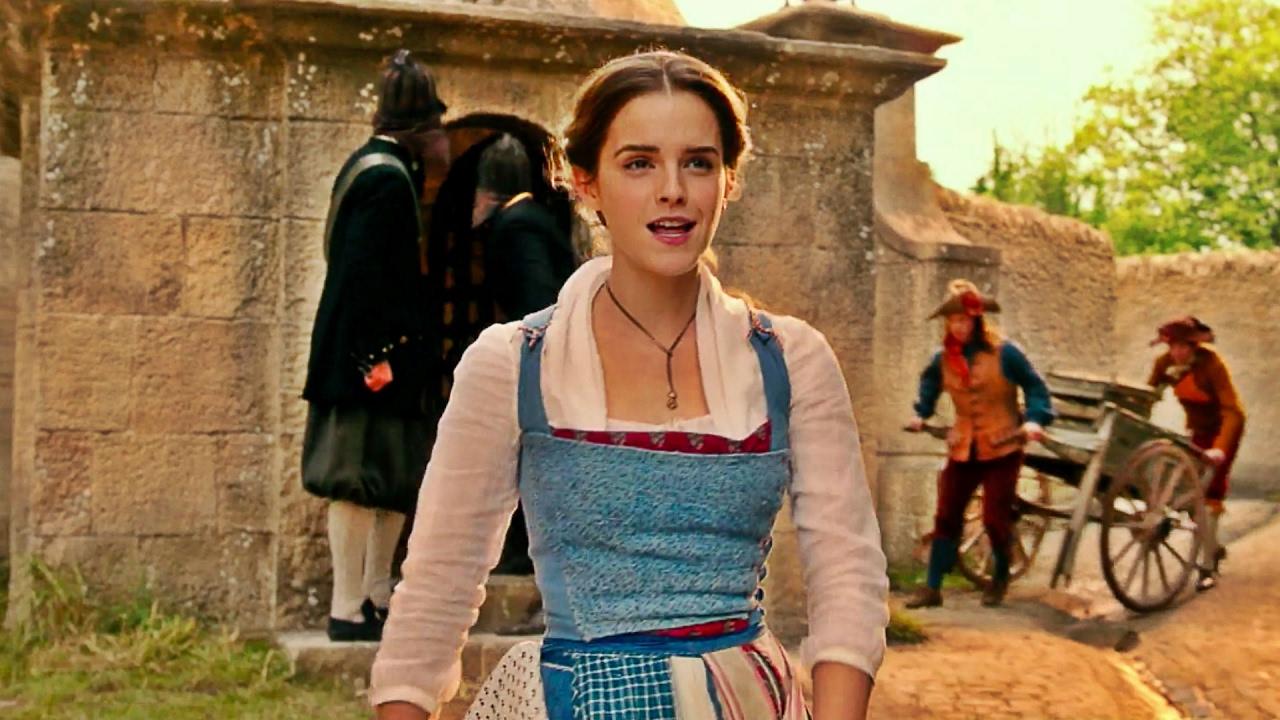 Emma Watson Sings Belle In Disneys Beauty And The Beast 2017