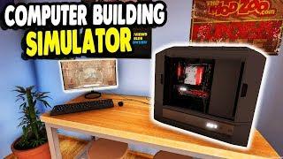 FIRST LOOK: NEW FAVORITE SIMULATOR BUILDING GAME | PC: Building Simulator Gameplay