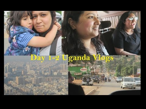 Flying to Uganda Day 1-2 | Uganda Vlogs