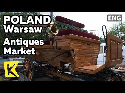 【K】Poland Travel-Warsaw[폴란드 여행-바르샤바]마차까지 파는 골동품 시장/Antiques Market/Used product