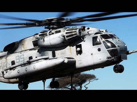 MOST POWERFUL !!! US Military Helicopter Aircraft lifting Heavy Military equipment