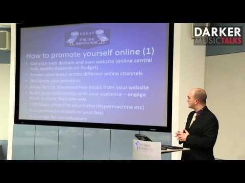 Reputation Management For Musicians Online (Part #1) - Darker Music Talks London (with K. Varsis)