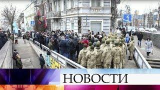 В Киеве открыли мемориал Петлюре.