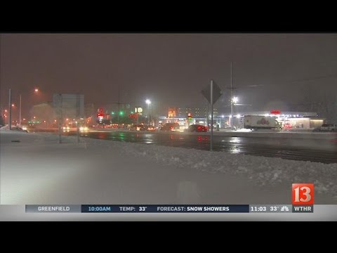 Lafayette snow aftermath