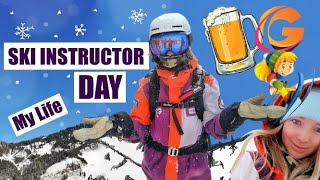 SKI INSTRUCTOR // Day In The Life ROUTINE Explained // AUSTRIA // With PHOTOS!
