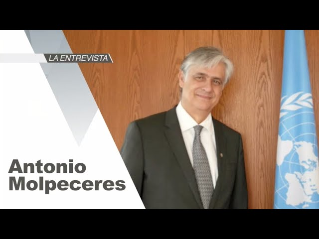 La Entrevista: Antonio Molpeceres, Coordinador Residente del Sistema de Naciones Unidas en México