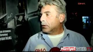 KAĞITHANE 39 DE OTOBÜSE MOLOTOFLU SALDIRI