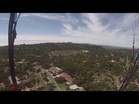 Paulz first mountain flight - 3059ft to 654ft  - Unedited flight begins at 10:30