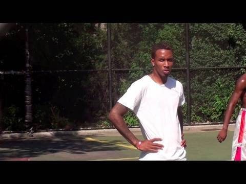 Brandon Jennings On Fire Highlights! - West 4th Street The Cage in New York City - JRSportBrief