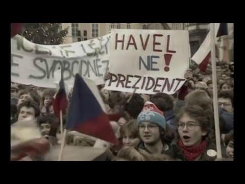 Czechoslovakia's Velvet Revolution 30 years on