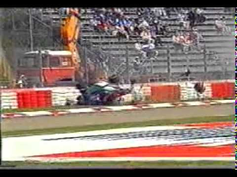 Rubens Barrichello Serious Crash Imola 1994 ( San Marino Grand Prix)