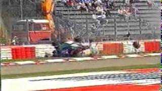 Rubens Barrichello Serious Crash Imola 1994 ( San Marino Grand Prix)