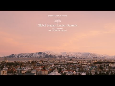 Conference Highlights of the 2016 Iceland Global Student Leaders Summit | EF Educational Tours