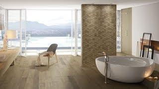 Модная плитка в ванной 35 современных интерьеров