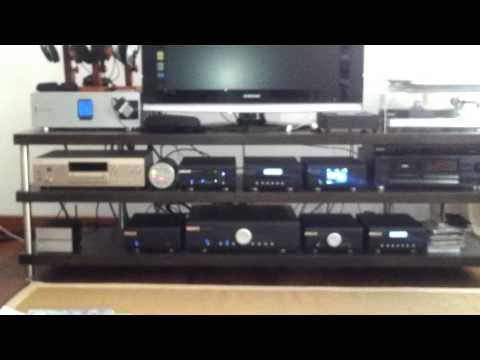 Musical Fidelity M1 CDT/DAC, M6i amp, ProAc D18