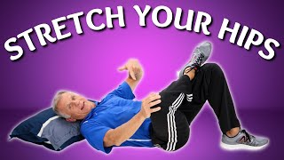 10 Ways to Stretch Your Hips, Stop Pain, & Increase Flexibility Video