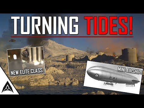 BATTLEFIELD 1 TURNING TIDES - All New Information (Elite Class, Vehicles, ANZACS, Weapons)