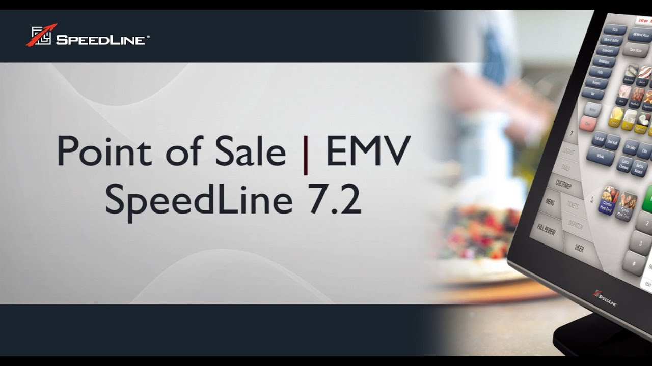 Spiksplinternieuw SpeedLine Pizza POS for EMV: Preview - YouTube DF-73