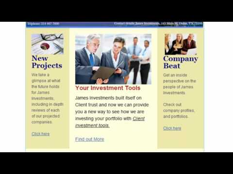 Professional business newsletter example.mp4