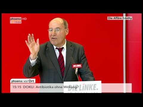 Der Fall Edathy: Statement von Gregor Gysi (Die Linke) am 18.02.2014
