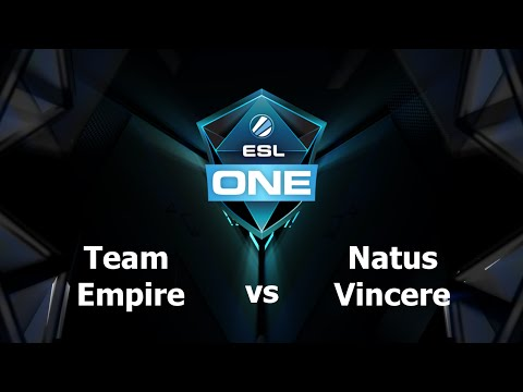 Na'Vi vs Team Empire Game 4 - ESL One Manila EU - @TobiWanDOTA @DotaCapitalist