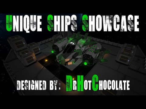 Space Engineers - DrHotChocolate's Unique Ships Showcase