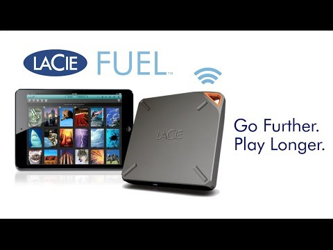 CES 2014: LaCie Announces 1TB 'Fuel' Wireless External Hard Drive for iOS/Mac Devices