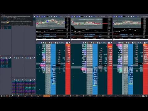 Live Futures Trading.  Bitcoin and Treasuries Futures. 2018-01-04