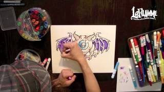 Monster Eyeball - Crayola Markers Color