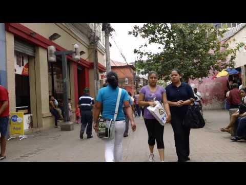 Peatonal Tegucigalpa, Honduras