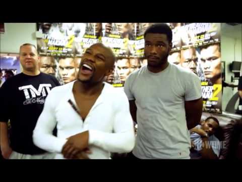 Floyd Mayweather - Illegal street fighting rules Mayweather Boxing Club