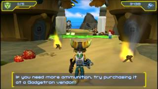Ratchet And Clank: Size Matters (PSP/PS2) - Part 1 (Pokitaru)