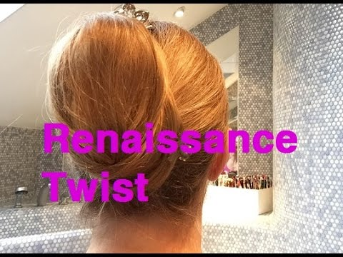 Frisur Anleitung Renaissance Twist