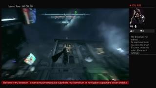 Batman Arkham Knight Riddler Mission Livestream