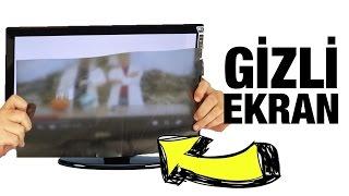 Dünyanın En Gizli Ekranını Yaptık