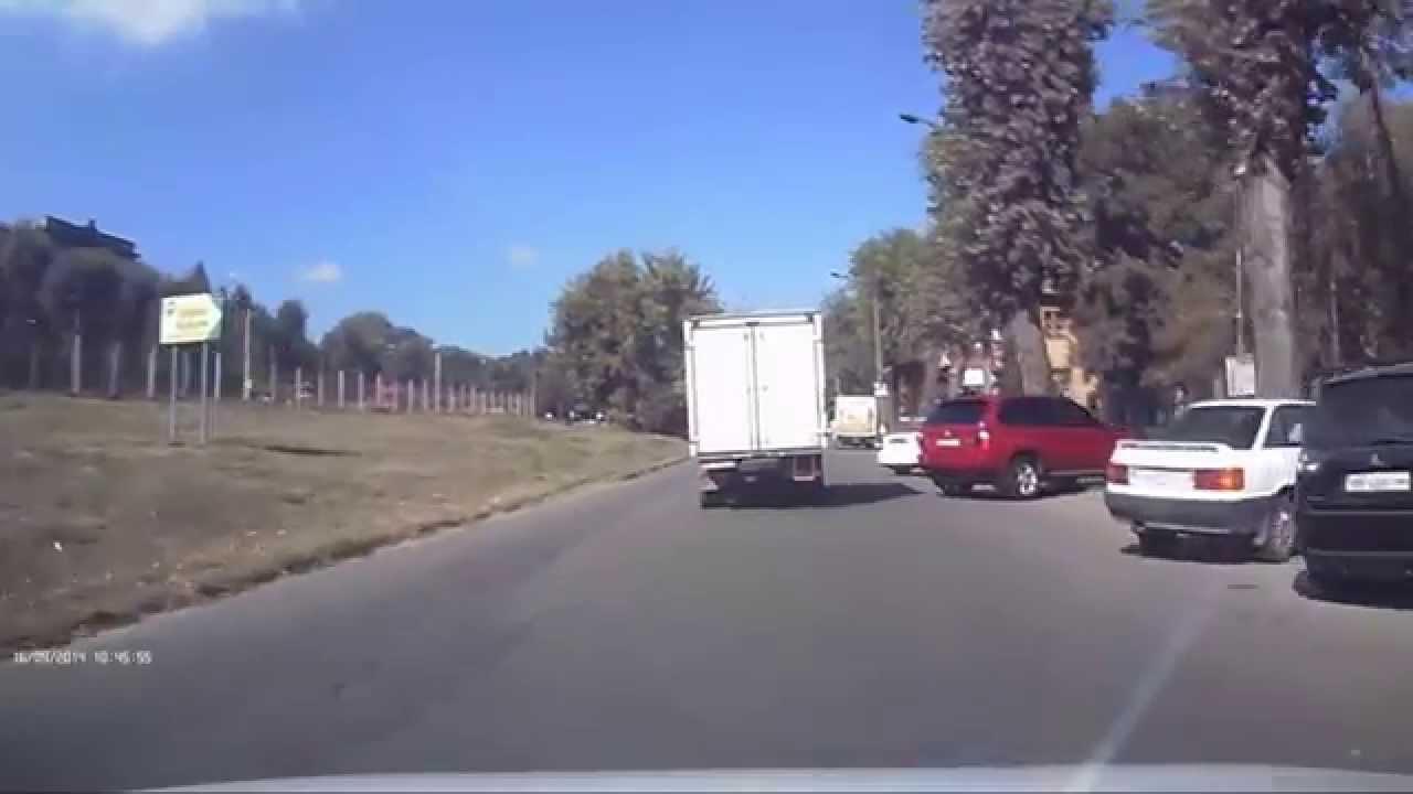 Идиот на дороге.