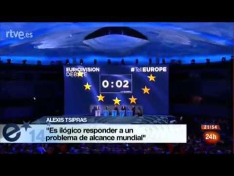Debate entre candidatos a la presidencia de la UE