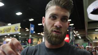 Bryce Harper on his Under Armour