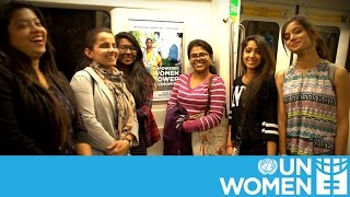 Delhi metro gets UN Women makeover