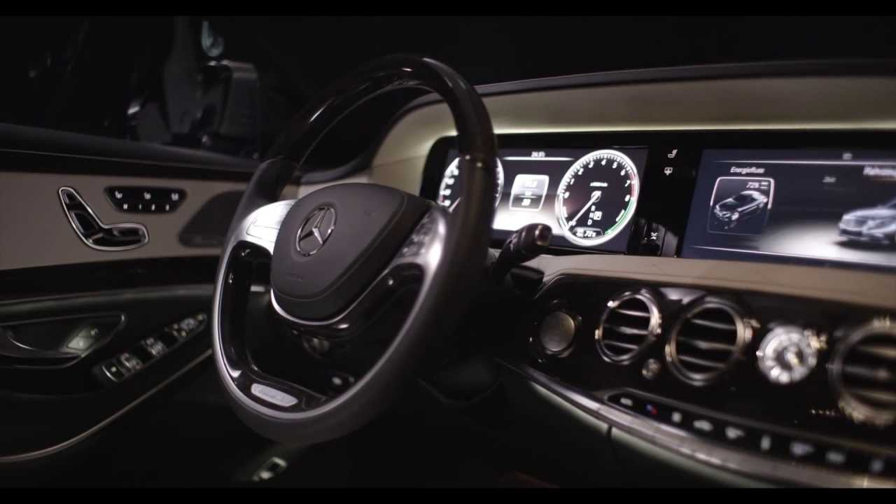 Mercedes S Class 2014 Interior S400 Hybrid W222 In Detail ...
