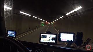 Снежная Швейцария. Адский тоннель Gotthard.