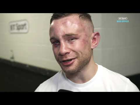 """""""I was hurt a number of times."""" Carl Frampton candid interview after Josh Warrington defeat"""