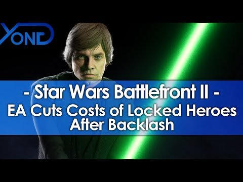 EA Cuts Costs of Battlefront 2's Locked Heroes After Backlash