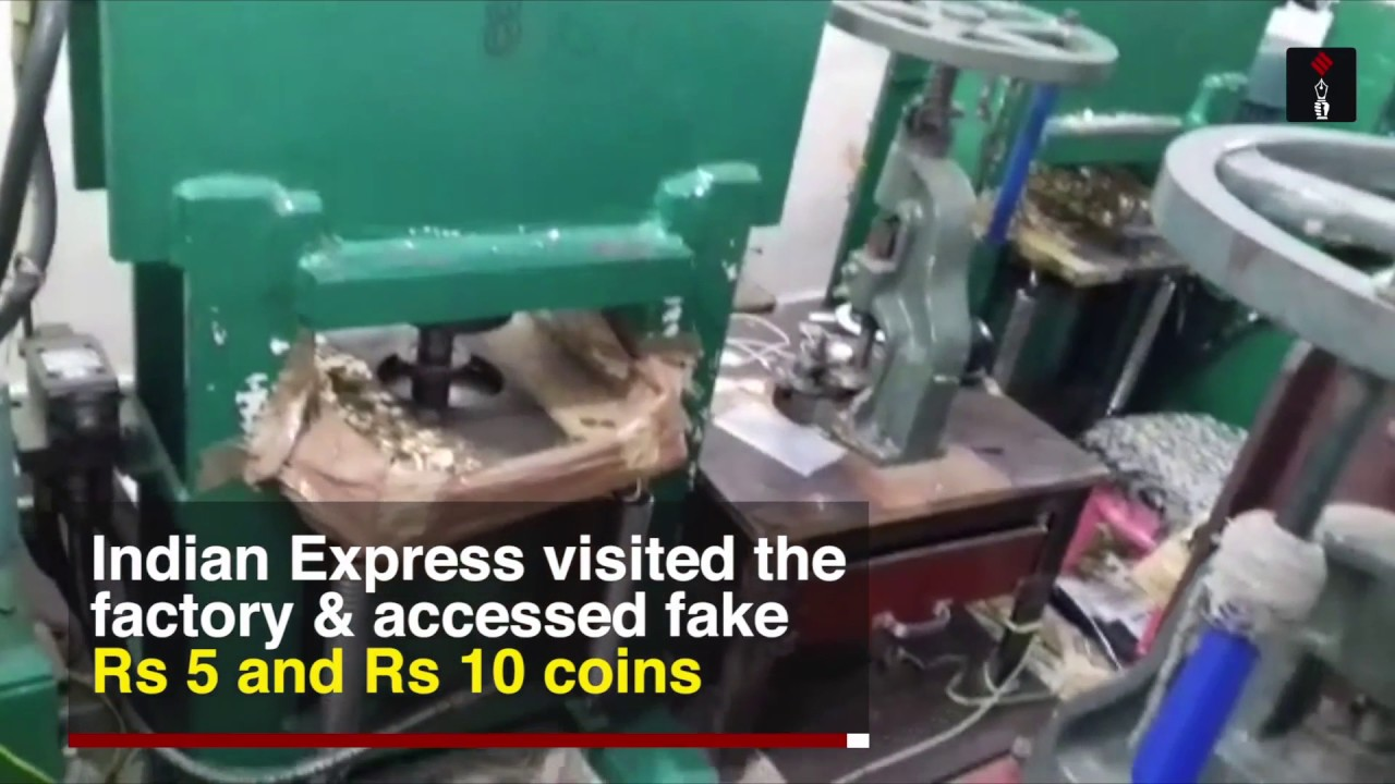 Rs 5 & Rs 10 Fake Coins Racket Busted