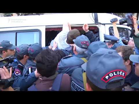 Protests In Yerevan Continue As Crowds Block Government Building