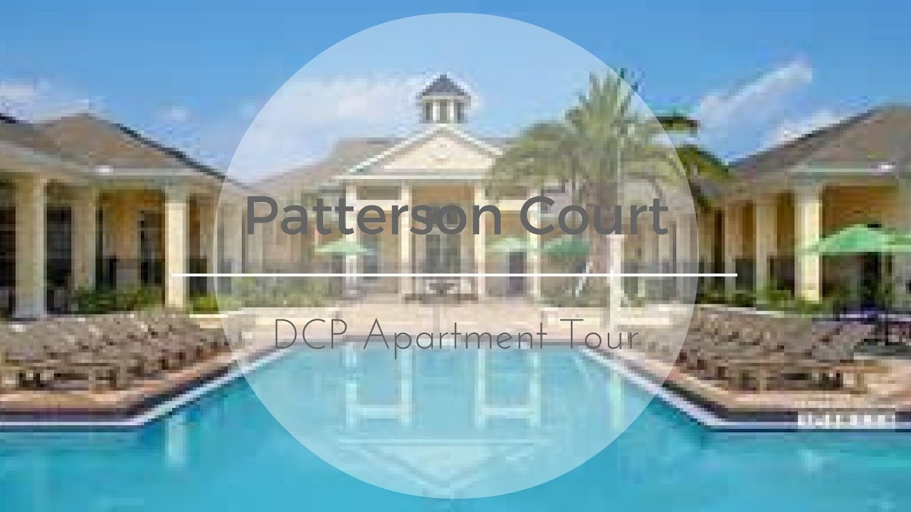 Disney College Program Patterson Apartment Tour Deta