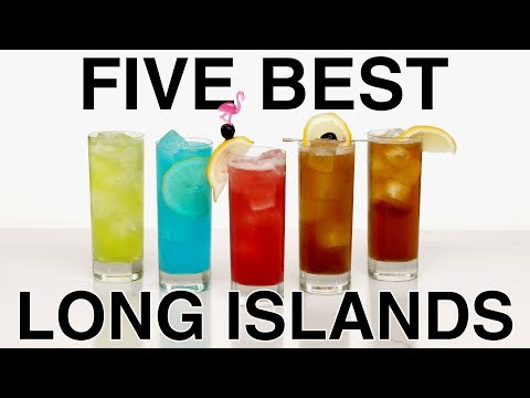 Top 5 Long Island Ice Tea Cocktails - Easy Cocktails