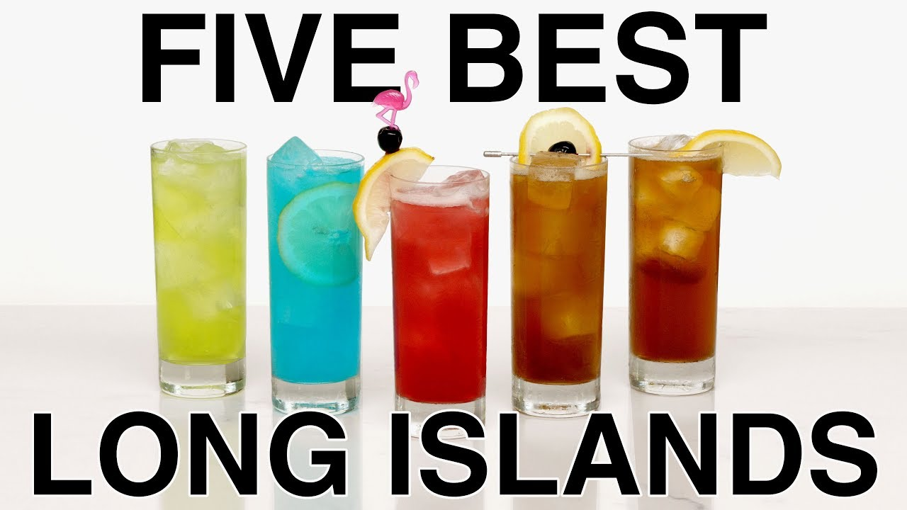 Top 5 Long Island Ice Tea Cocktails Easy Cocktails Youtube